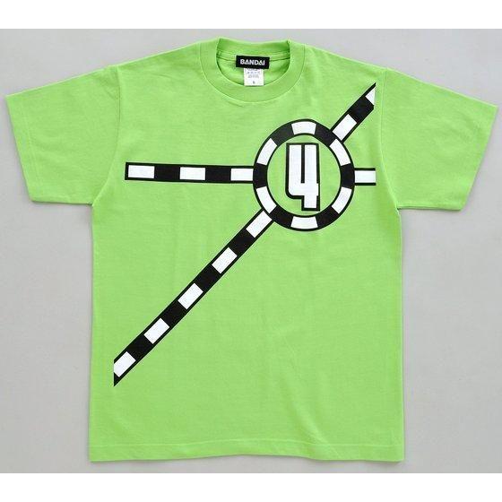 烈車戦隊トッキュウジャー トッキュウ4号 Tシャツ