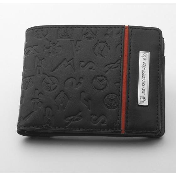仮面ライダーシリーズ45周年記念 本革二つ折り財布