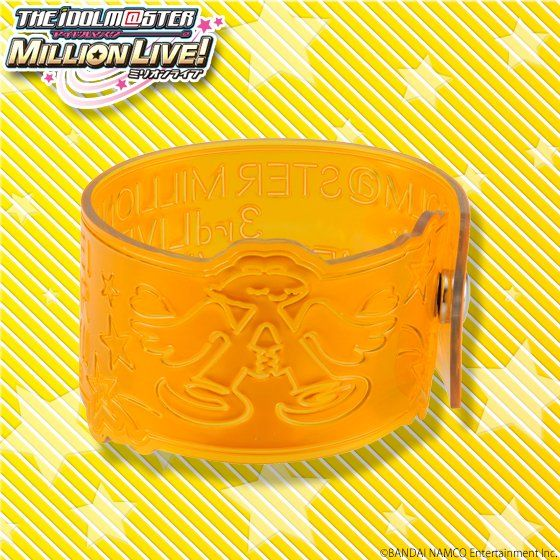 アイドルマスター ミリオンライブ!3rdLIVE  リフレクターブレスレット