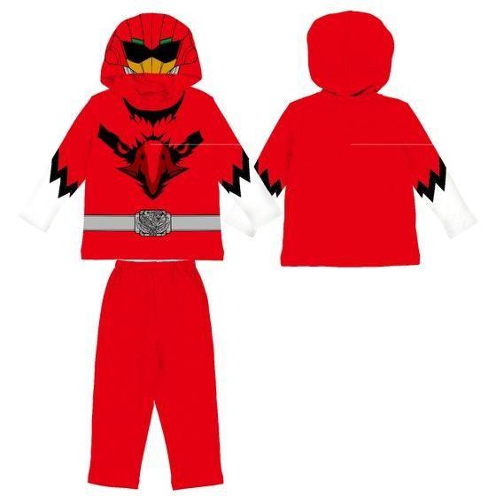動物戦隊ジュウオウジャー  変身長袖パジャマ