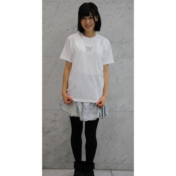 仮面ライダークウガ グロンギTシャツ 白(プリント色 グレー)