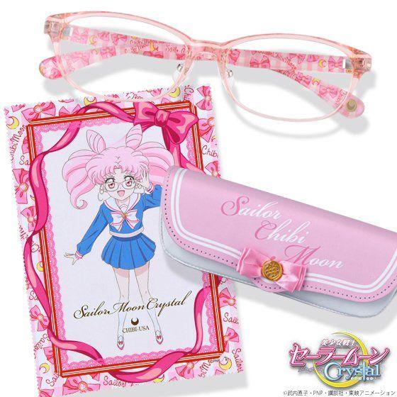 美少女戦士セーラームーンCrystal×JINS×BANDAI セーラーちびムーンモデル オリジナルケース+セリートセット