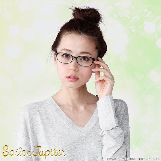 美少女戦士セーラームーンCrystal×JINS×BANDAI セーラージュピターモデル オリジナルケースセット