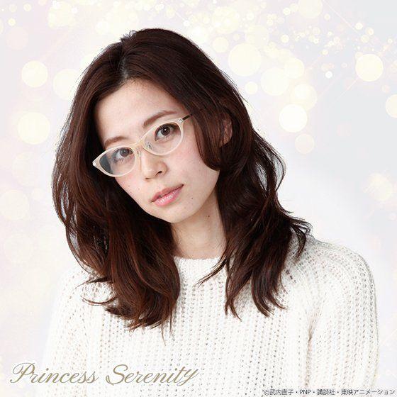 美少女戦士セーラームーンCrystal×JINS×BANDAI プリンセス・セレニティモデル