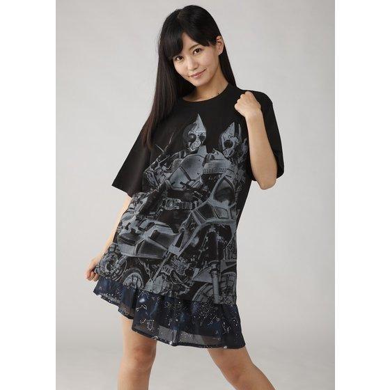 菅原芳人計画 仮面ライダーブレイド 4超人柄Tシャツ