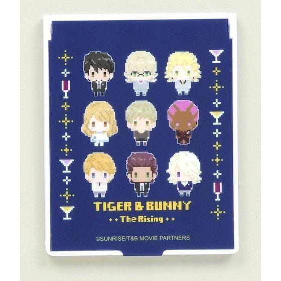 劇場版TIGER & BUNNY -The Rising- ドットビット スタンドミラー 正装柄