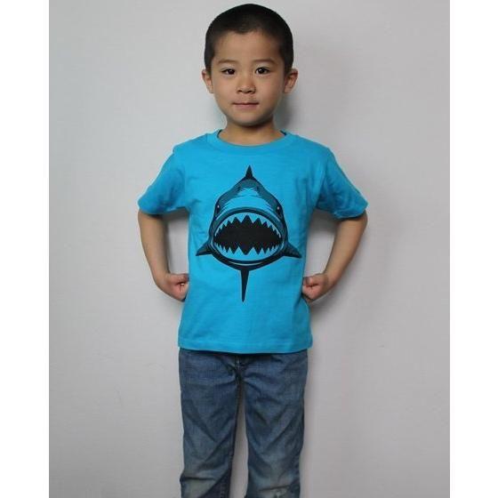 動物戦隊ジュウオウジャー 「ジュウオウシャーク」Tシャツ こども用