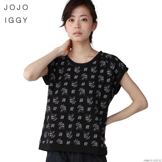 JOJO IGGY TOPS WOMEN (ジョジョ イギー Tシャツ レディース)