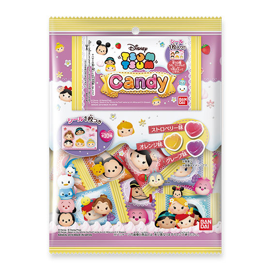 Disney TSUM TSUM Candy(10個入)