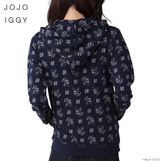 JOJO IGGY ライダースパーカー WOMEN (ジョジョ イギー ライダースパーカー レディース)