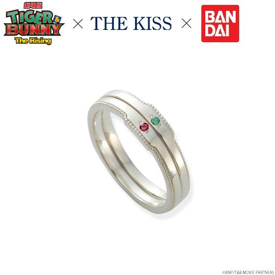 劇場版 TIGER & BUNNY -The Rising-×THE KISS リング