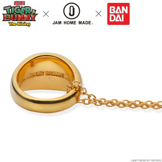 �y2016�N6���������F100�Œ���z����� TIGER & BUNNY -The Rising-�~JAM HOME MADE �l�b�N���X K10 YELLOW GOLD