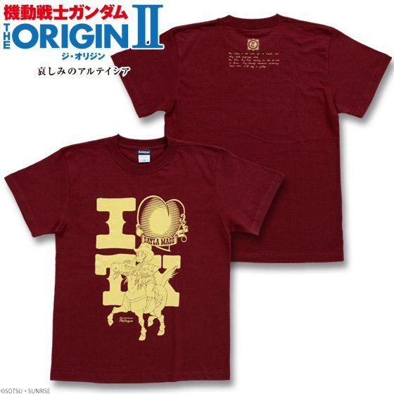 機動戦士ガンダム THE ORIGIN Tシャツ(セイラ柄)