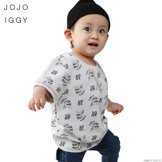 JOJO IGGY TOPS (ジョジョ イギー Tシャツキッズサイズ)