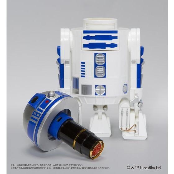 スターウォーズ ネーム印スタンド R2-D2