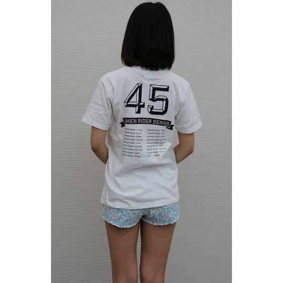 仮面ライダーシリーズ45周年記念 平成仮面ライダーデフォルメTシャツ(カラープリント)