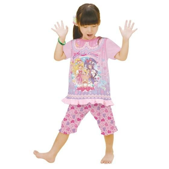 魔法つかいプリキュア! 勇気がでる!光る半袖パジャマ