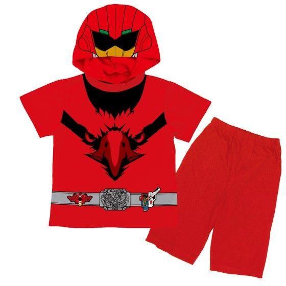 動物戦隊ジュウオウジャー 変身半袖パジャマ