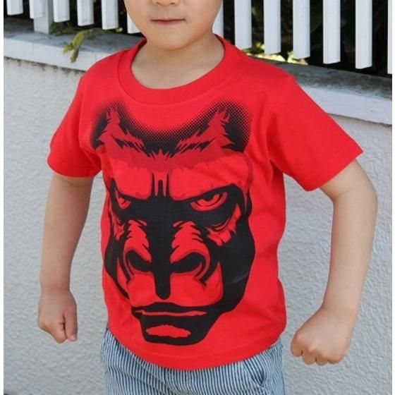 動物戦隊ジュウオウジャー 「ジュウオウゴリラ」Tシャツ こども用