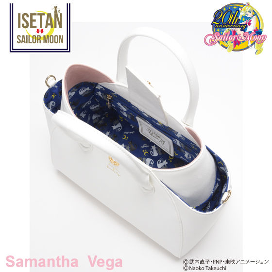 【Samantha Vegaコラボ】美少女戦士セーラームーン ルナ/アルテミス フェイクレザートートバッグ大