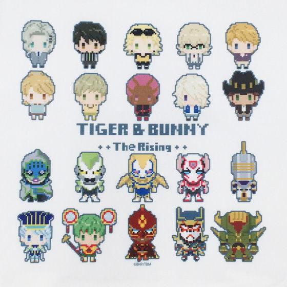 [プレミアムバンダイ限定販売]劇場版 TIGER & BUNNY The Rising ドットビット トートバッグ 全員集合柄
