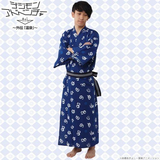 デジモンアドベンチャーtri.×大江戸温泉物語 浴衣 ~メンズ~