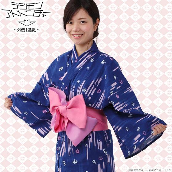 デジモンアドベンチャーtri.×大江戸温泉物語 浴衣 ~レディース~