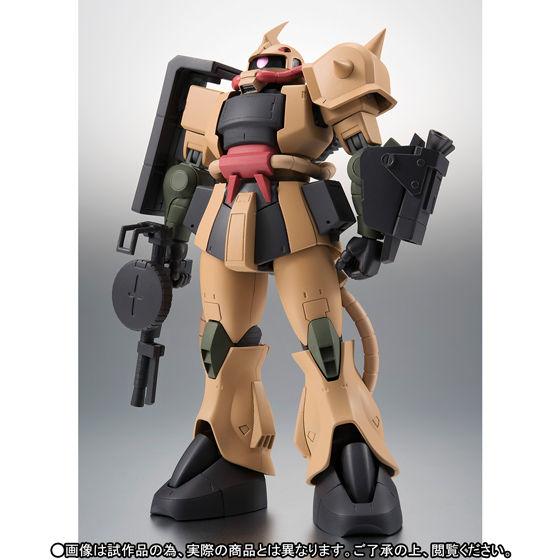 ROBOT魂 〈SIDE MS〉 MS-06D ザク・デザートタイプ ver. A.N.I.M.E.