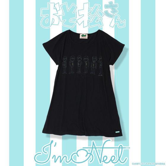 おそ松さん×HTML ZERO3×BANDAI I'm Neet Six Stripe Onepiece (ワンピース)