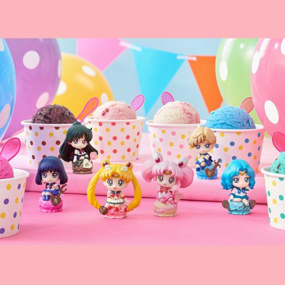 【抽選販売】ぷちきゃらランド 美少女戦士セーラームーン アイスクリーム☆パーティー アソートセット