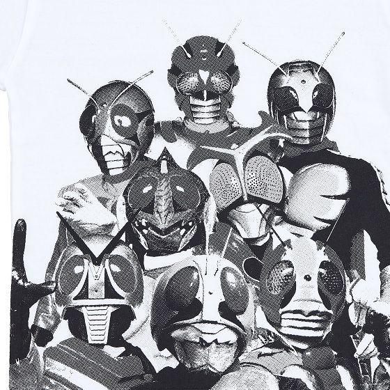 仮面ライダーTシャツ(子供)【GLAMB】集合