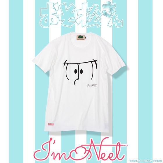 おそ松さん×HTML ZERO3×BANDAI I'm Neet Face tee (フェイスTシャツ)【2次 2016年8月発送分】