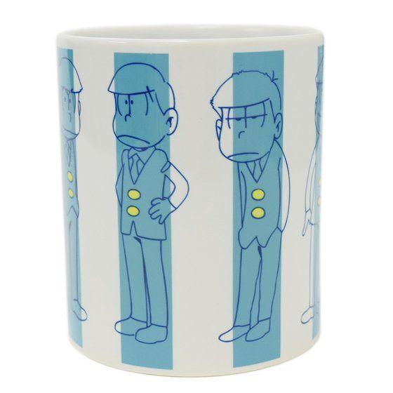 おそ松さん×HTML ZERO3×BANDAI I'm Neet Six Stripe Mug Cup(マグカップ)