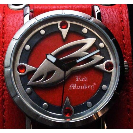 �y2016�N9�����͂��zTIGER��BUNNY x red Monkey Collaboration Wristwatch �o�[�i�r�[�E�u���b�N�XJr.���f��