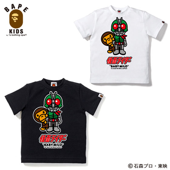 A BATHING APE�R���{�@���ʃ��C�_�[�@T�V���c#2�@KIDS