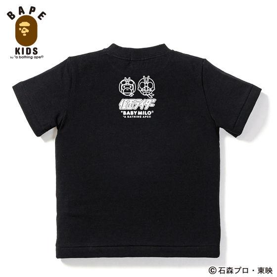A BATHING APEコラボ 仮面ライダー Tシャツ#2 KIDS