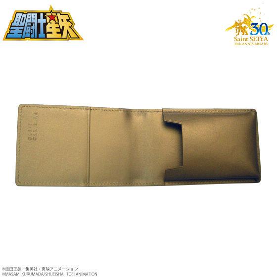 聖闘士星矢 30周年メモリアル 黄金聖衣箱(ゴールドクロスボックス)本革名刺ケース 山羊座