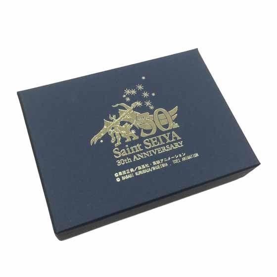 聖闘士星矢 30周年メモリアル 黄金聖衣箱(ゴールドクロスボックス)本革名刺ケース 魚座