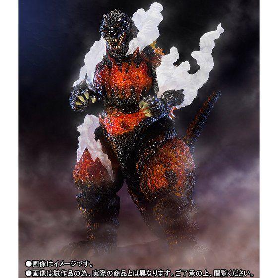 S.H.MonsterArts �S�W���i1995�j Ultimate Burning Ver.