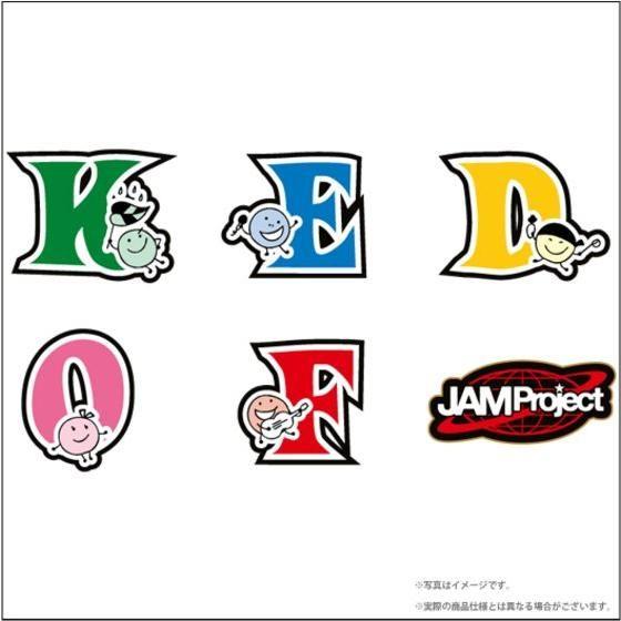 JAM Project ワッペン Set