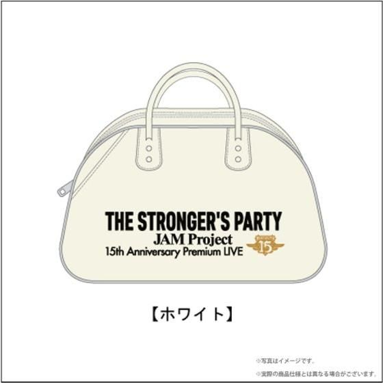 JAM Project STRONGER'S バッグ(ホワイト)