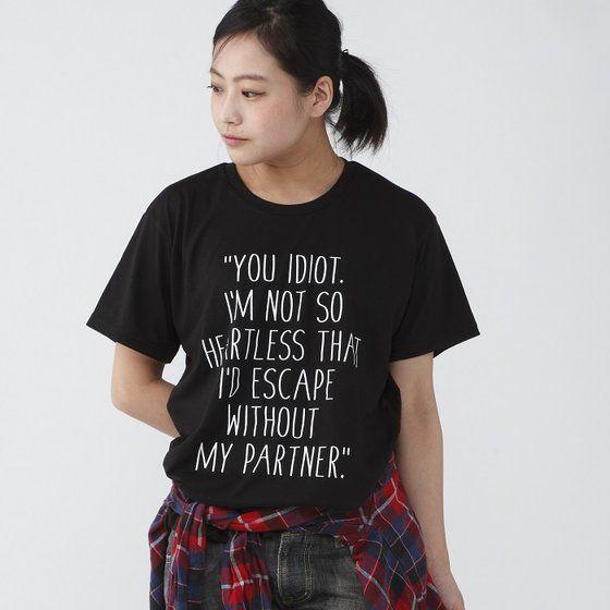 TIGER & BUNNY セリフTシャツ「MY PARTNER」