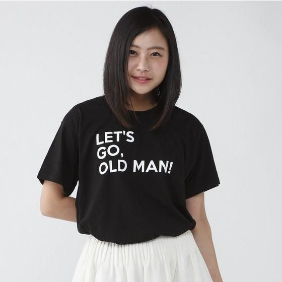 TIGER & BUNNY セリフTシャツ「LET'S GO,OLD MAN!」