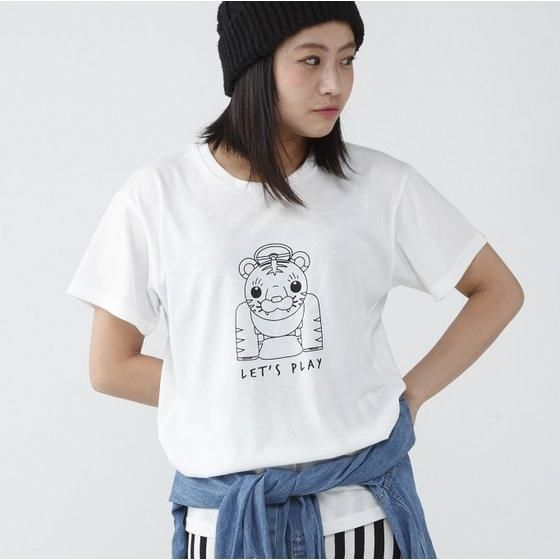 TIGER & BUNNY 虎遊具Tシャツ