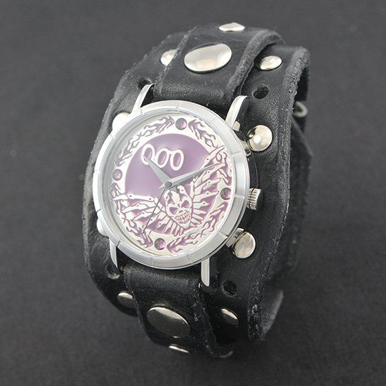 仮面ライダードライブ チェイス× Red Monkey designs  Collaboration Wristwatch Silver925 High-End Model