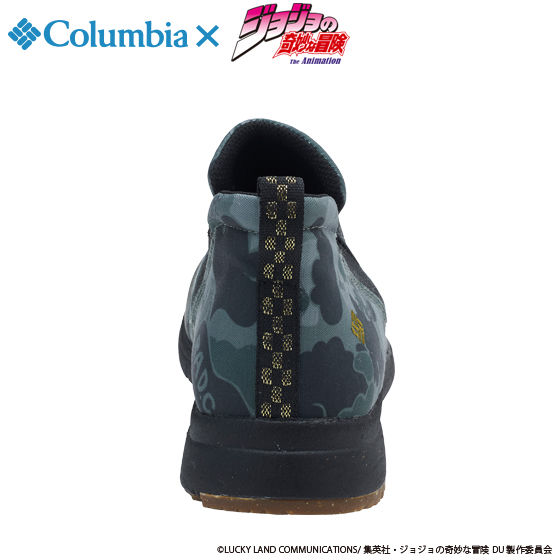 "ジョジョの奇妙な冒険×Columbia コラボ YU3882 Smallwood(TM) Slip WP Special ""JOJO"" #347 Surplus Green Camo"