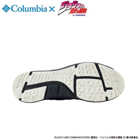 """ジョジョの奇妙な冒険×Columbia コラボ YU3882 Smallwood(TM) Slip WP Special  """"JOJO""""#010 BLACK"""