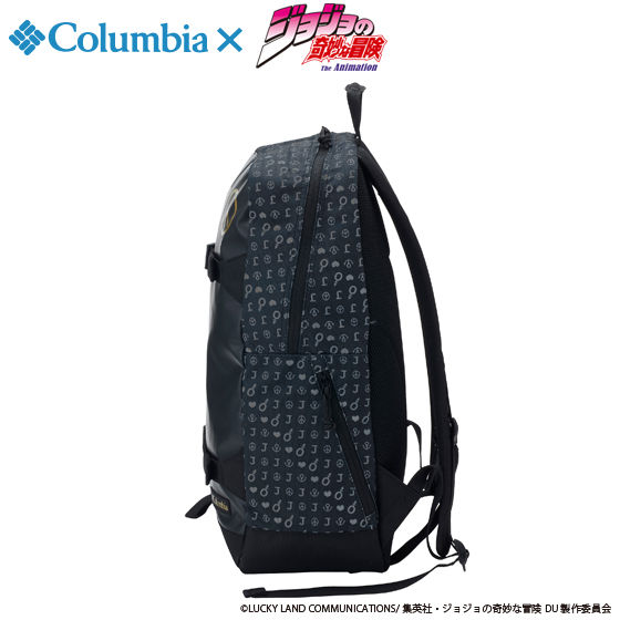 "ジョジョの奇妙な冒険×Columbiaコラボ PU3036 Third Bluff(TM) SP Backpack""JOJO"" #010  Black"