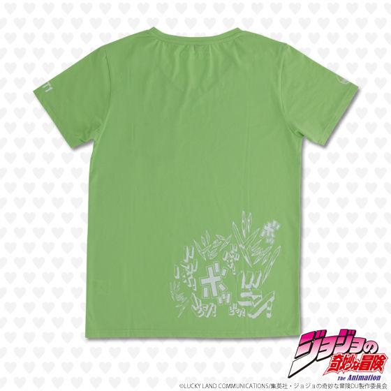 ジョジョの奇妙な冒険 ダイヤモンドは砕けない ポケットTシャツ エコーズ