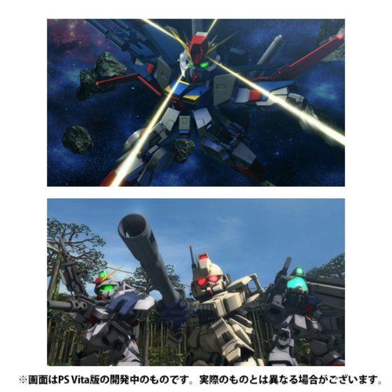 PS Vita SDガンダム ジージェネレーション ジェネシス